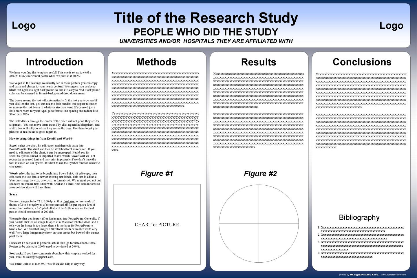 002 Surprising Scientific Poster Template Free Download Example  A1 CreativeFull