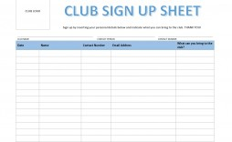 002 Surprising Sign Up Sheet Template Concept  Staff In Office