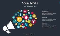 002 Surprising Social Media Ppt Template Free Picture  Download Report Powerpoint