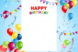 002 Surprising Template For Birthday Card Idea  Microsoft Word Design Happy