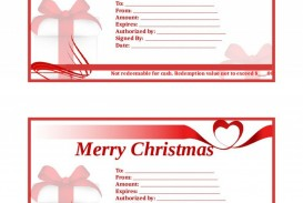 002 Surprising Template For Christma Gift Certificate Free Sample  Voucher Uk Editable Download Microsoft Word