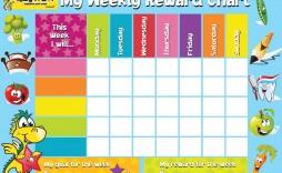 002 Surprising Weekly Behavior Chart Template High Resolution  Pdf Classroom