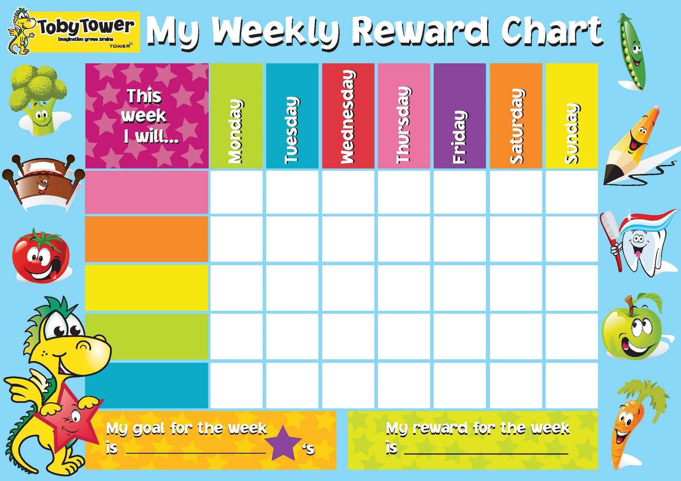 002 Surprising Weekly Behavior Chart Template High Resolution  Pdf ClassroomFull