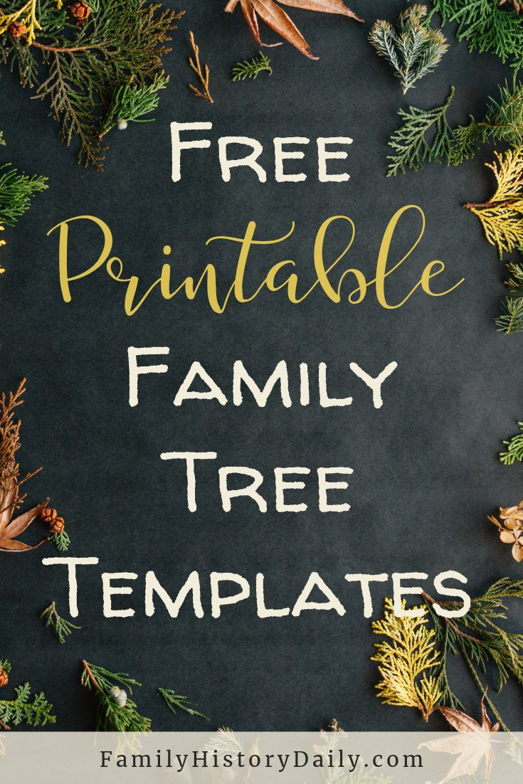 002 Top Family Tree Book Template Photo  FreeFull
