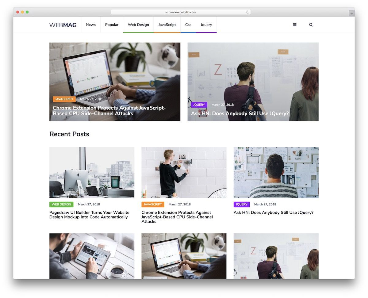 002 Top Free Cs Professional Website Template Download Idea  Html With JqueryFull