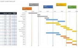 002 Top Free Gantt Chart Template Highest Quality  Excel 2020 Xlsx Uk