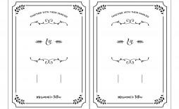 002 Top Free Wedding Invitation Template Printable Example  For Microsoft Word Mac