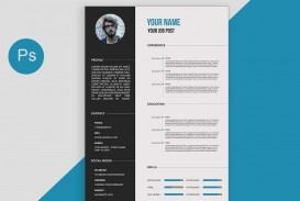 002 Top How To Create A Resume Template In Photoshop High Resolution