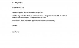 002 Top Letter Of Resignation Template Free Photo  Pdf Sample