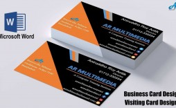 002 Top Microsoft Office Busines Card Template Example  M Download Free Professional Word Blank