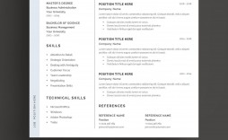 002 Top Resume Template Word 2016 High Definition  Cv Professional