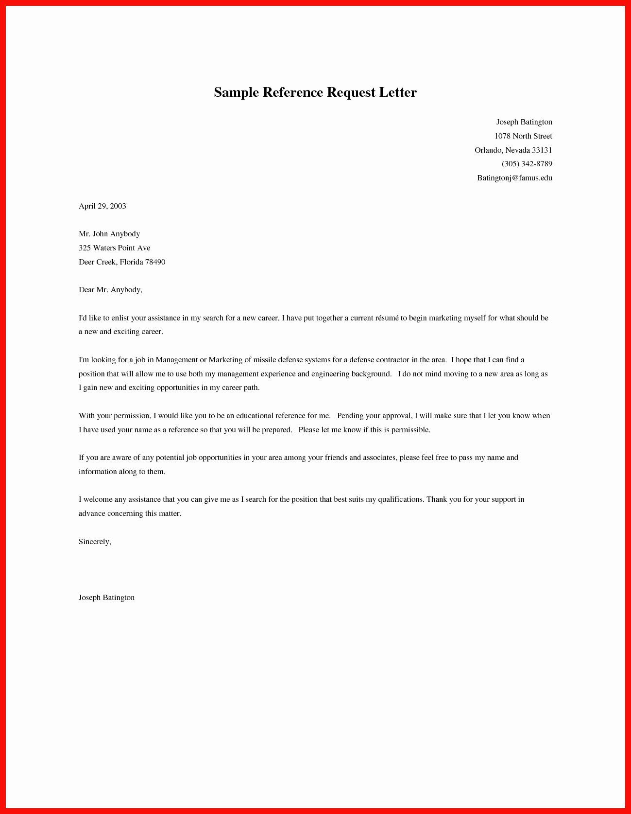 002 Top Sample Request For Letter Of Recommendation High Resolution  From Previou Employer NursingFull
