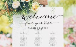 002 Top Seating Chart Wedding Template Sample  Table Excel Printable Reception Free