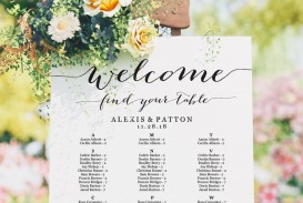 002 Top Seating Chart Wedding Template Sample  Alphabetical Word Table Plan