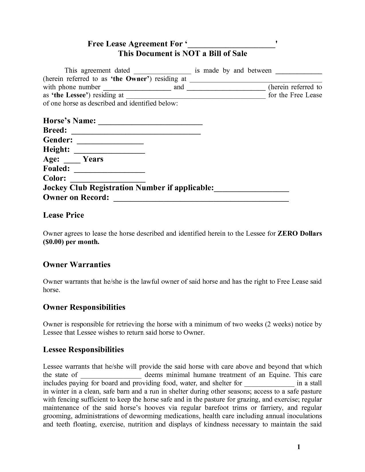 002 Top Simple Lease Agreement Template Design  Tenancy Free Download Rent Format In Word India RentalFull