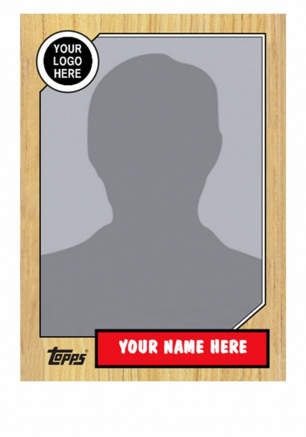 002 Unbelievable Baseball Card Template Photoshop Picture  Topp FreeLarge
