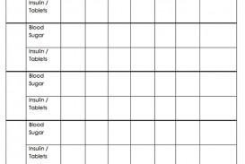 002 Unbelievable Blood Glucose Log Form High Def  Sheet Excel Level Free Printable Monthly