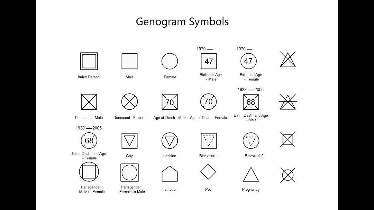 002 Unbelievable Family Medical History Genogram Template Image Full