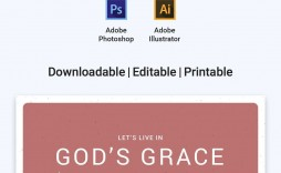 002 Unbelievable Free Church Program Template High Definition  Printable Anniversary Doc