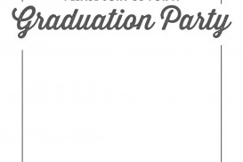 002 Unbelievable Free Graduation Invitation Template Printable High Resolution  Party For Word Preschool