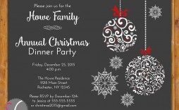 002 Unbelievable Free Holiday Party Invitation Template Idea  Templates Printable Downloadable Christma Online