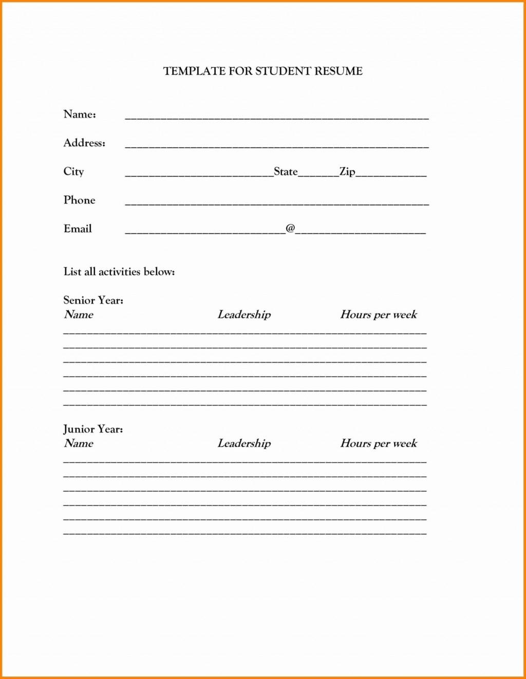 002 Unbelievable Free Printable Resume Template Download Design Large