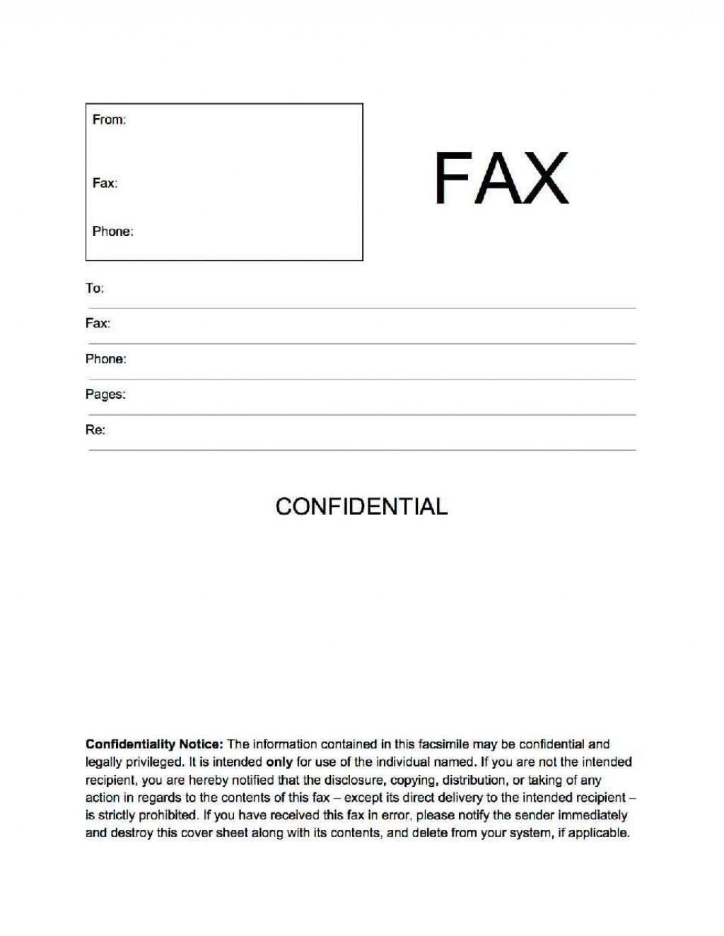 002 Unbelievable General Fax Cover Letter Template Concept  Sheet Word Confidential ExampleLarge