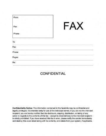 002 Unbelievable General Fax Cover Letter Template Concept  Sheet Word Confidential Example360