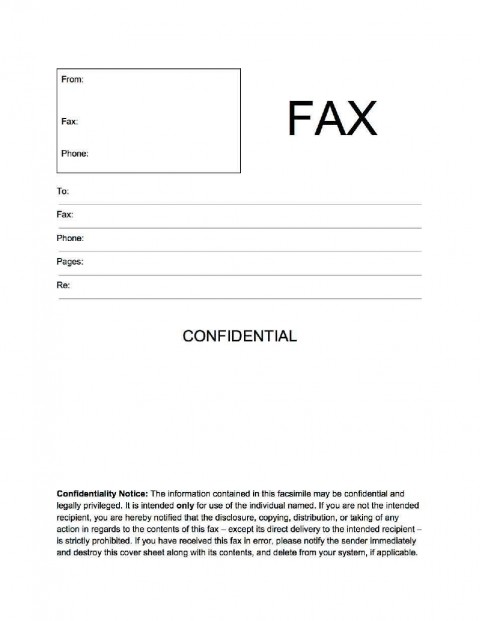 002 Unbelievable General Fax Cover Letter Template Concept  Sheet Word Confidential Example480