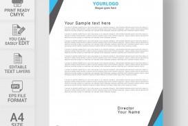 002 Unbelievable Letterhead Sample Free Download High Resolution  Template Ai Microsoft Word Restaurant