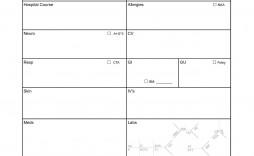 002 Unbelievable Nursing Report Sheet Template Example  Icu Rn Printable