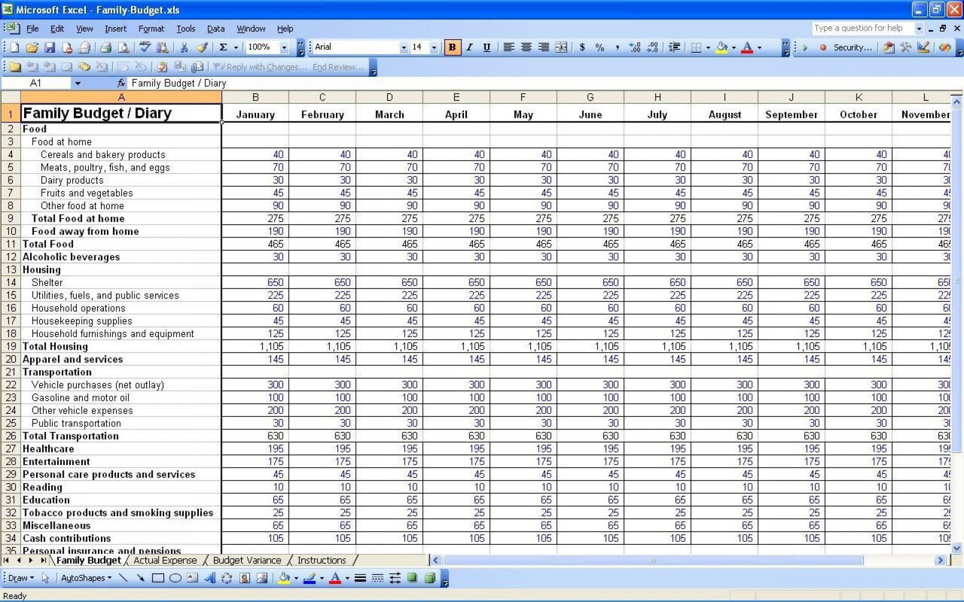 002 Unbelievable Personal Budget Template Excel Highest Clarity  Monthly Sheet Free 2007 South Africa1920