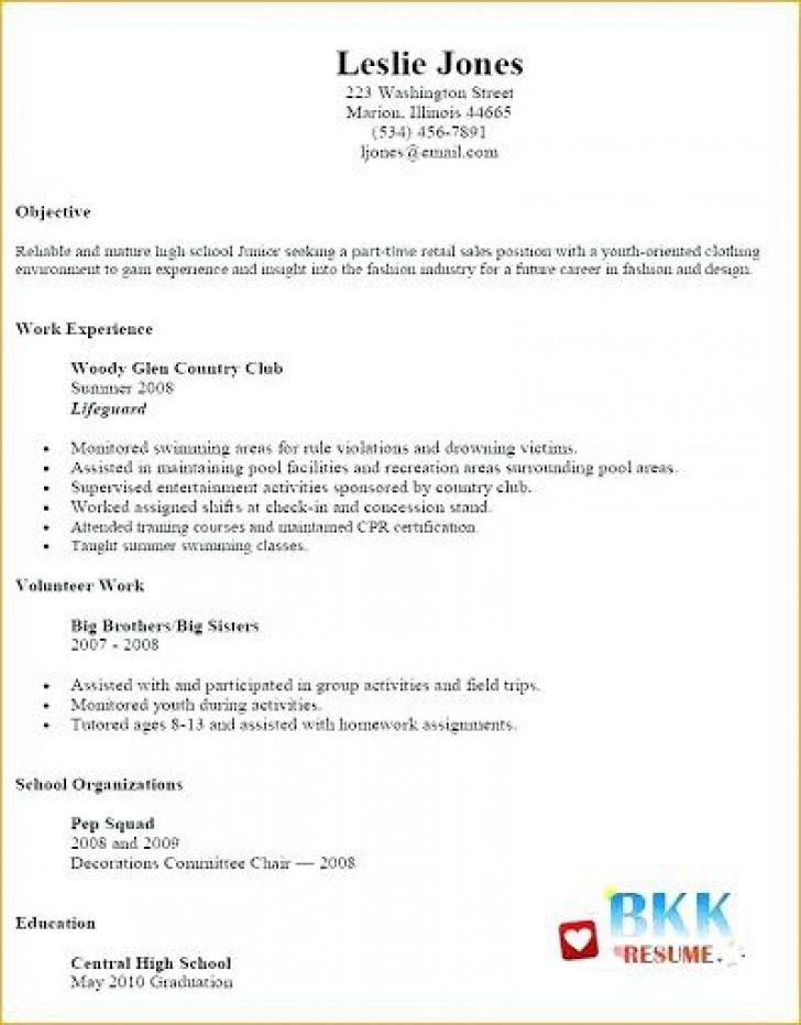 002 Unbelievable Resume Template For Teen High Def  Teenager First Job Australia728