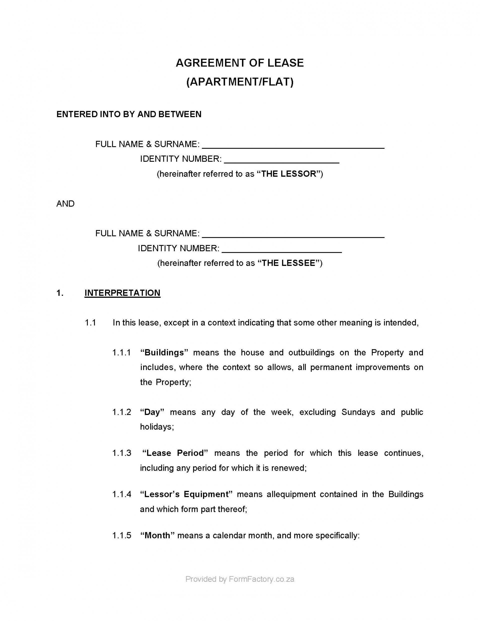 002 Unbelievable Room Rental Agreement Template Ireland Photo Full