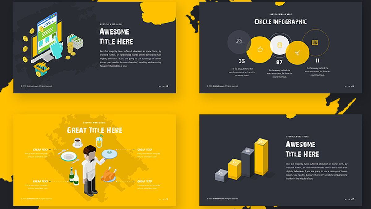 002 Unforgettable Best Powerpoint Template Free High Resolution  Busines Download White Background 2019Full