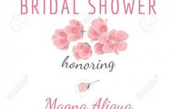 002 Unforgettable Bridal Shower Card Template High Definition  Invitation Free Download Bingo