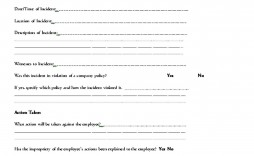 002 Unforgettable Employee Write Up Template Highest Clarity  Templates Form Google Doc Sheet