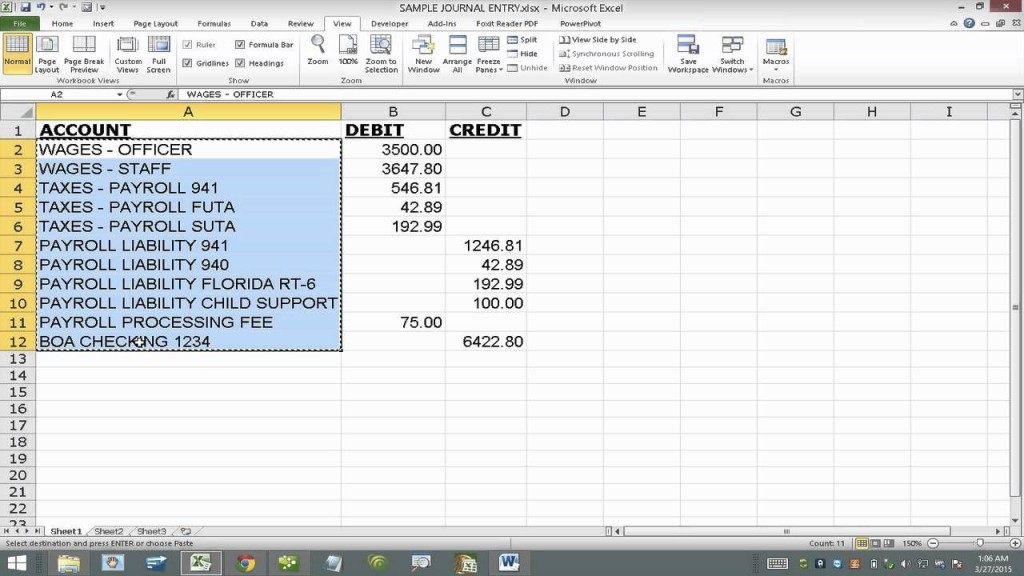 002 Unforgettable Free Accounting Journal Entry Template High Def  DownloadLarge