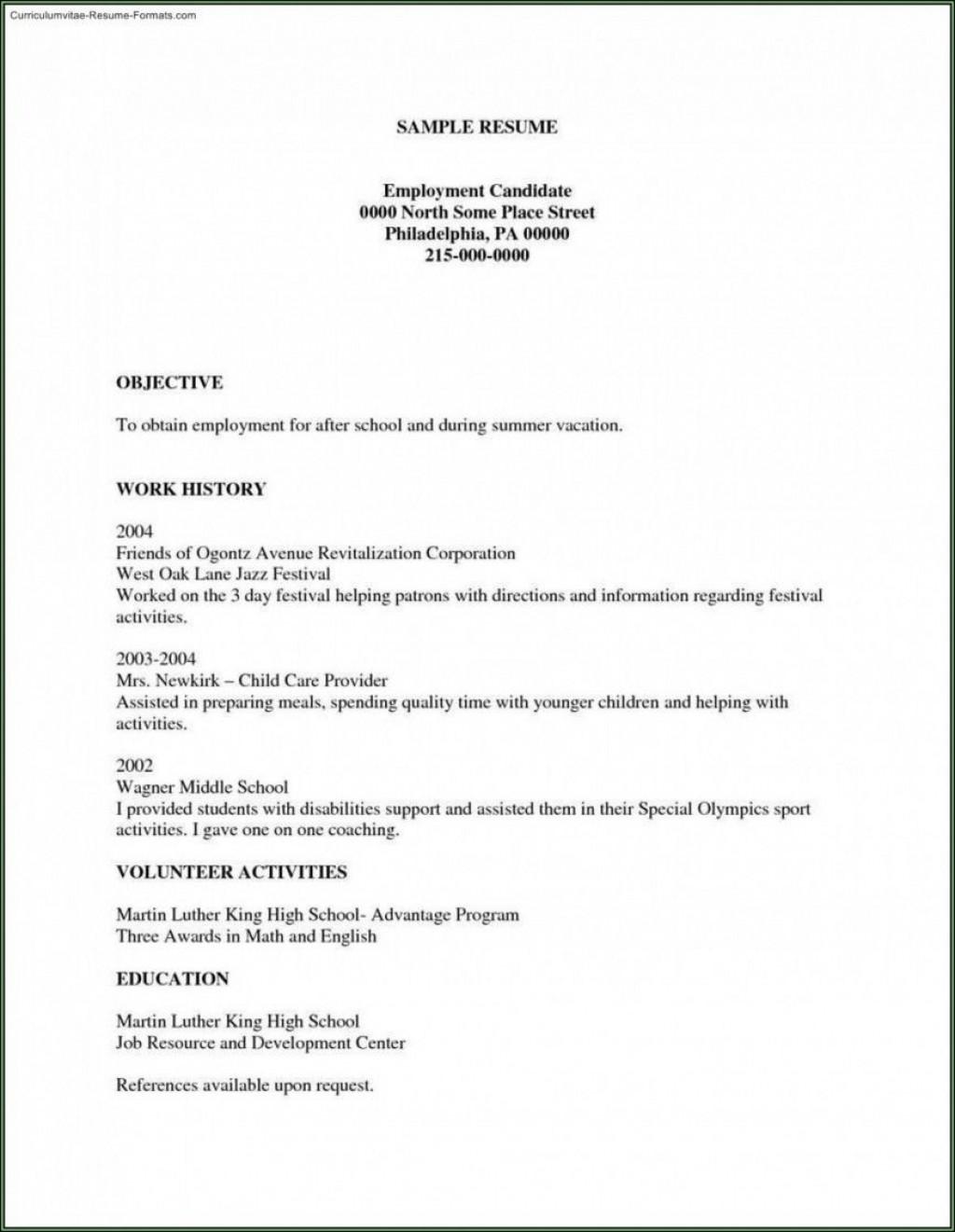 002 Unforgettable Free Basic Resume Template Example  Templates Online Microsoft WordLarge