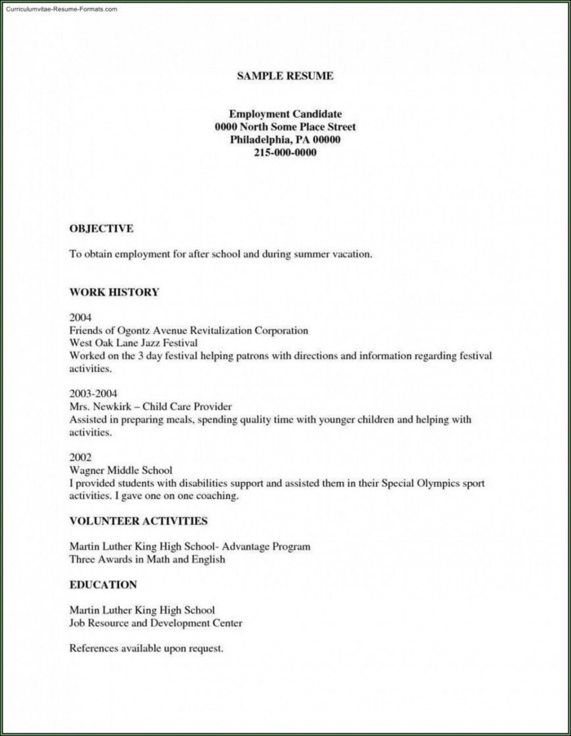 002 Unforgettable Free Basic Resume Template Example  Templates Online Microsoft Word1920