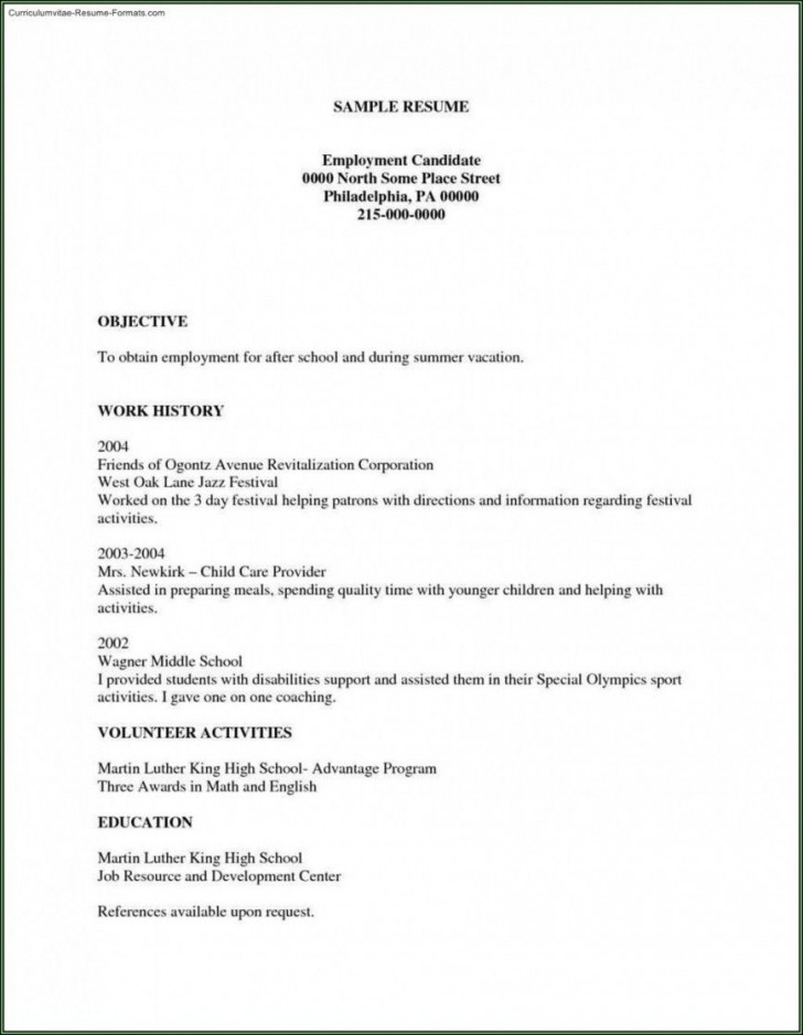 002 Unforgettable Free Basic Resume Template Example  Sample Download For Fresher Microsoft Word 2007728