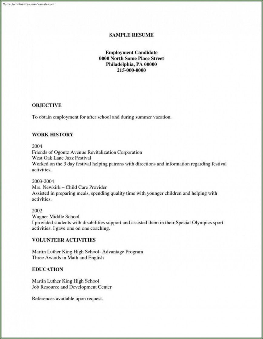 002 Unforgettable Free Basic Resume Template Example  Templates Online Microsoft WordFull