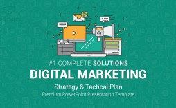 002 Unforgettable Free Digital Marketing Plan Template Ppt High Definition