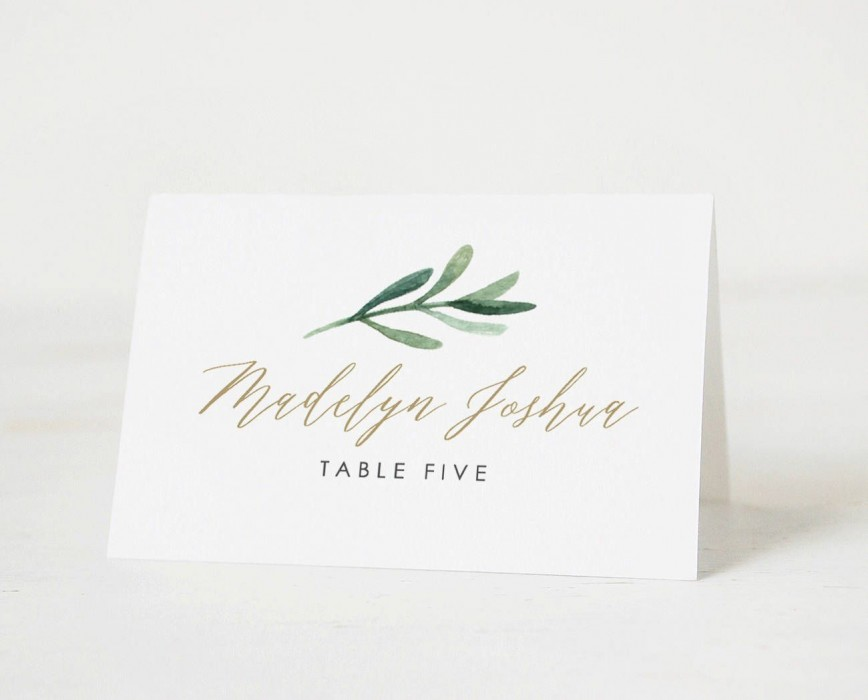 002 Unforgettable Free Place Card Template Word Sample  Blank Microsoft Wedding Name868