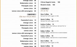 002 Unforgettable Free Printable Menu Template Design  For Dinner Party Family