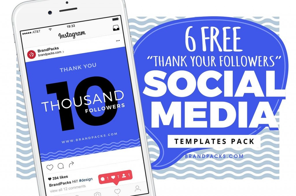 002 Unforgettable Free Social Media Template High Resolution  Templates Website Design Post Download For PowerpointLarge