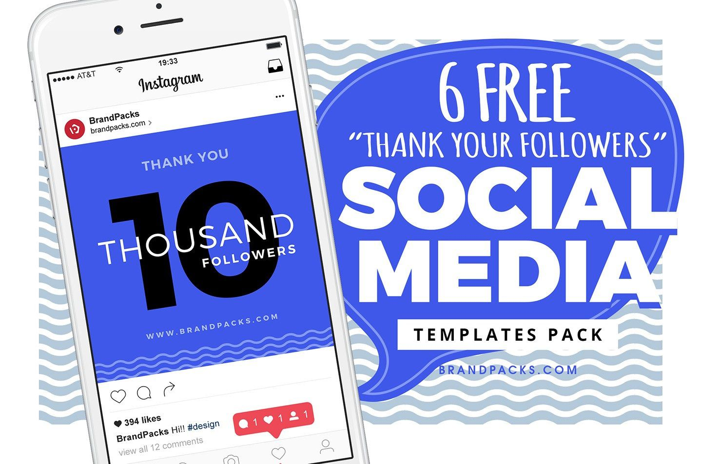 002 Unforgettable Free Social Media Template High Resolution  Templates Website Design Post Download For PowerpointFull
