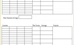 002 Unforgettable Homeschool Middle School Report Card Template Design  8th Grade Transcript
