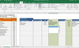 002 Unforgettable Monthly Busines Expense Template Design  Sheet Excel Pdf
