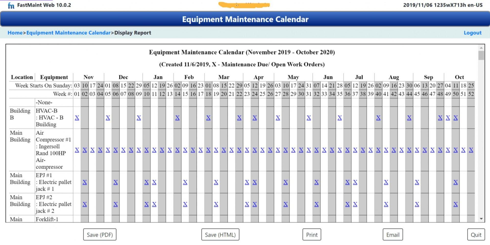 002 Unforgettable Preventive Maintenance Template Excel Download Inspiration  Computer1920